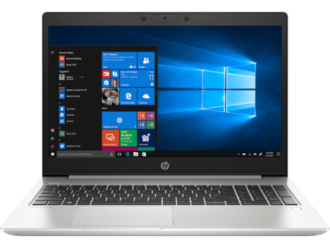 HP Renew 2D235EA ProBook 455 G7, Ryzen 5-4500U, 15.6, 8GB, 256GB SSD, WC, Win 10 Pro - US Keyboard