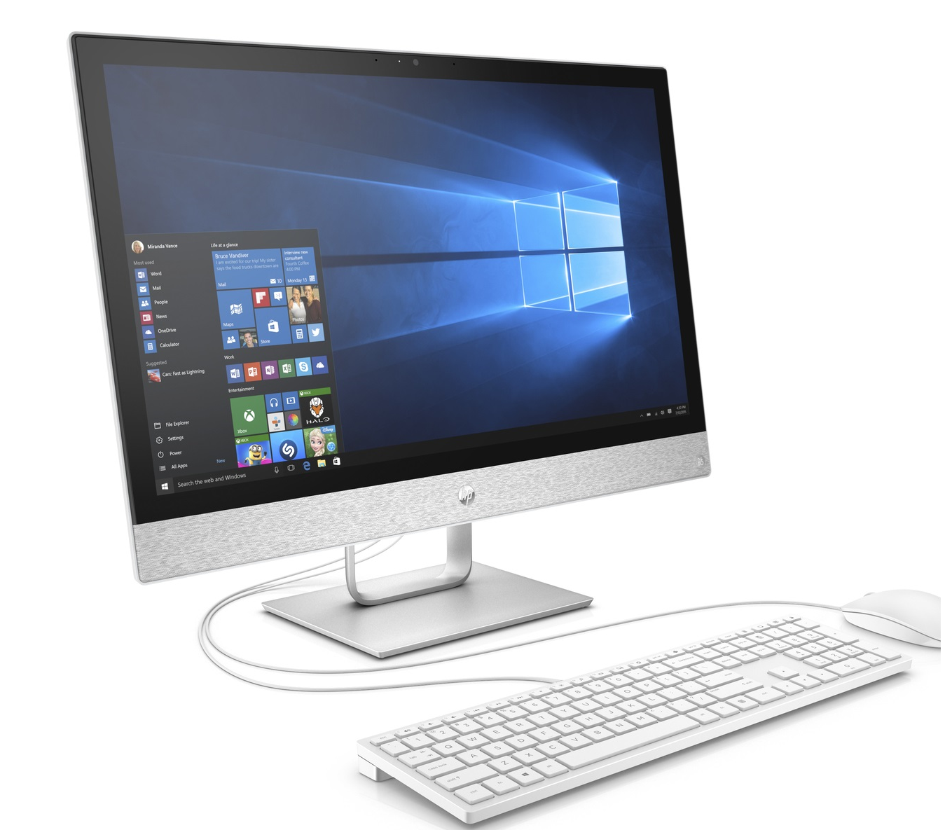 HP Renew 2XC70EA HP 24-r046nz AiO, Core i5-7400T, 23.8, 8GB, 1TB, DVDRW, WiFi, WC, Win 10