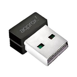 Approx APPUSB150NAV2 150mbps Wireless N Nano USB Adapter, Mediatek