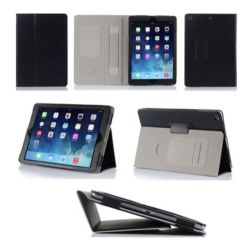 Black Faux Leather Case for iPad Mini