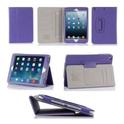 Purple Faux Leather Case for iPad Mini