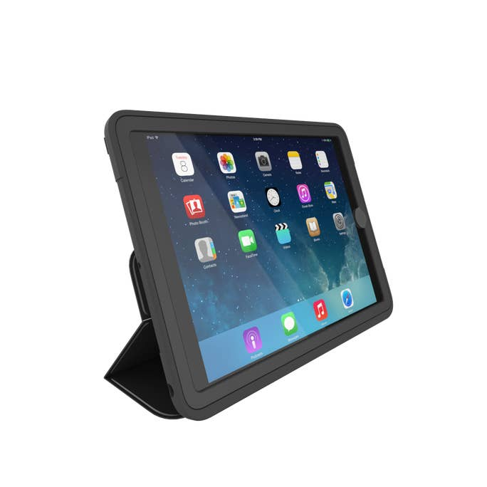 "Zagg Rugged Messenger Case for iPad 9.7"", 2m Drop Protection, with Screen Protect & Stand, New"