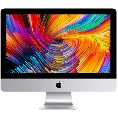 "2017 Apple iMac 21.5"" 4K Core i5-7400 3.0Ghz 16GB Ram 256GB SSD HD Sierra, Grade A-, 1 Year Warranty. - Original Apple Keyboard NOT Included, choice of Black Logitech Wireless or White Microsoft Wired"