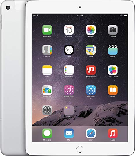 Apple iPad Air, 16GB, 4G Cellular + WiFi, WhiteSilver, Grade A-, 6 Months Warranty