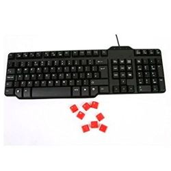Black USB UK Keyboard, Wired, New & Retail Boxed