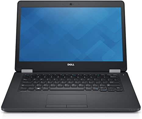"Dell Latitude E5470, 14"", Core i5-6300U, 8GB Ram, 256GB SSD, Webcam, Win 10 Home Grade A-"