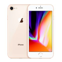 Apple iPhone 8, 64GB, Gold, Grade A, 6 Month Warranty
