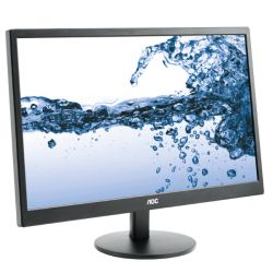 AOC 21.5 LED Monitor E2270SWDN, 1920 x 1080, 5ms, VGA, DVI, VESA, 3 Years On-site Warranty